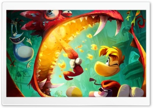 Rayman Legends HD Wide Wallpaper for Widescreen