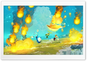 Rayman Legends 2012 HD Wide Wallpaper for Widescreen