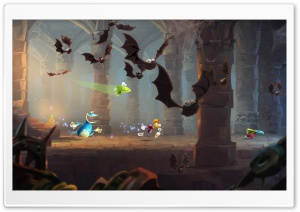 Rayman Legends Batcave HD Wide Wallpaper for Widescreen