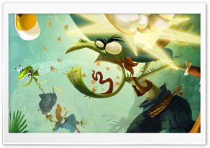 Rayman Legends Concept Art HD Wide Wallpaper for Widescreen