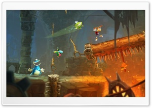 Rayman Legends Cut Rope HD Wide Wallpaper for Widescreen