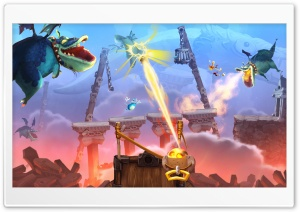 Rayman Legends Dragon Attack HD Wide Wallpaper for Widescreen