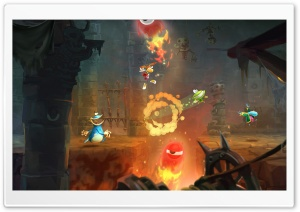 Rayman Legends Ghost Pop HD Wide Wallpaper for Widescreen