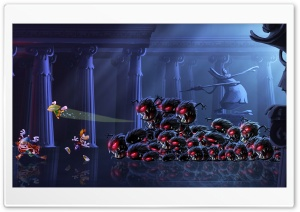 Rayman Legends Marble Rush HD Wide Wallpaper for Widescreen