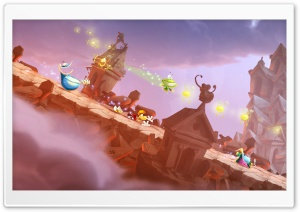 Rayman Legends Rockslide HD Wide Wallpaper for Widescreen