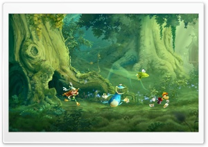 Rayman Legends Screenshots Ultra HD Wallpaper for 4K UHD Widescreen desktop, tablet & smartphone