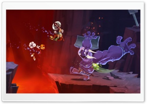 Rayman Legends Tickle Monster HD Wide Wallpaper for Widescreen