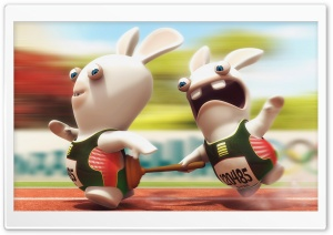 Rayman Raving Rabbids HD Wide Wallpaper for Widescreen