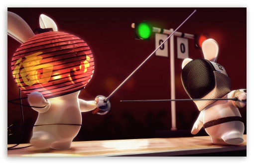Rayman Raving Rabbids Fencing UltraHD Wallpaper for Wide 16:10 5:3 Widescreen WHXGA WQXGA WUXGA WXGA WGA ; 8K UHD TV 16:9 Ultra High Definition 2160p 1440p 1080p 900p 720p ; Mobile 5:3 16:9 - WGA 2160p 1440p 1080p 900p 720p ;