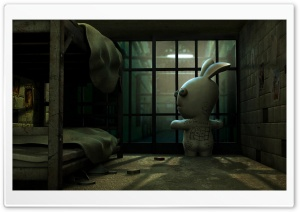 Rayman Raving Rabbids Game 2 HD Wide Wallpaper for Widescreen