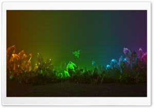 Razer Chroma Crystals Background Ultra HD Wallpaper for 4K UHD Widescreen desktop, tablet & smartphone
