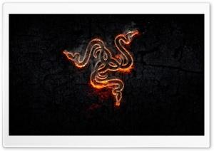 Razer Fire Background Ultra HD Wallpaper for 4K UHD Widescreen desktop, tablet & smartphone