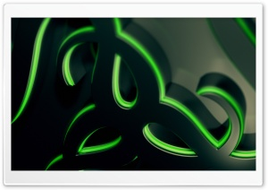 Razer Gaming Dual 3D HD Wide Wallpaper for Widescreen