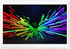 Razer Rainbow Colors Background Ultra HD Wallpaper for 4K UHD Widescreen desktop, tablet & smartphone