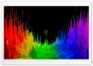 Razer Rainbow Spectrum Background Ultra HD Wallpaper for 4K UHD Widescreen desktop, tablet & smartphone