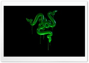 Razer Snakes Slime Background Ultra HD Wallpaper for 4K UHD Widescreen desktop, tablet & smartphone