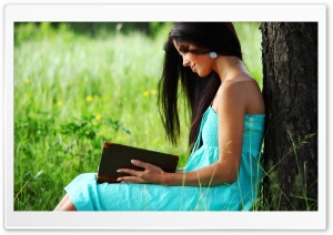 Reading Book HD Wide Wallpaper for Widescreen