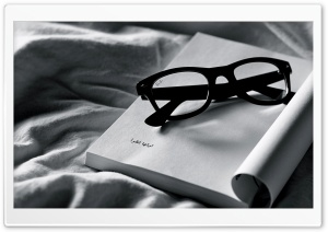 Reading Glasses HD Wide Wallpaper for Widescreen