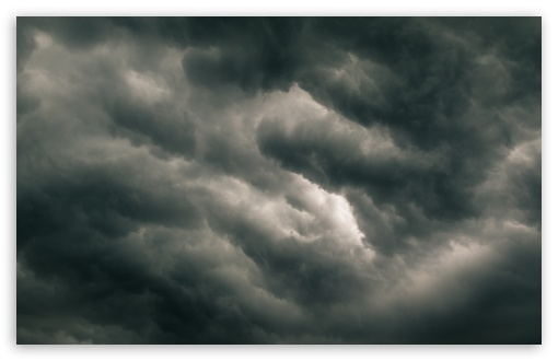 Download Real Dark Storm Clouds, Stormy Sky HD Wallpaper