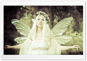 Real Fairy HD Wide Wallpaper for Widescreen