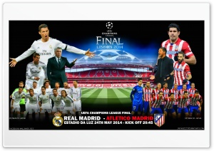 REAL MADRID - ATLETICO MADRID HD Wide Wallpaper for Widescreen