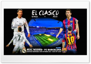 REAL MADRID - FC BARCELONA HD Wide Wallpaper for Widescreen