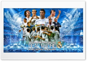 REAL MADRID CHAMPIONS LEAGUE HD Wide Wallpaper for Widescreen