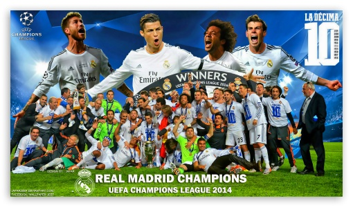 Real Madrid Winners Champions League 2014 ❤ 4K UHD Wallpaper for 4K UHD 16:9 Ultra High Definition 2160p 1440p 1080p 900p 720p ; Mobile 16:9 - 2160p 1440p 1080p 900p 720p ;