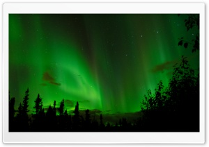 Real Northern Lights HD Wide Wallpaper for Widescreen