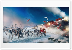 Real Santa Claus Ultra HD Wallpaper for 4K UHD Widescreen desktop, tablet & smartphone