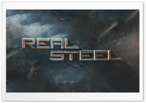 Real Steel 2011 HD Wide Wallpaper for Widescreen
