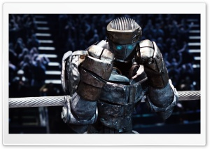 Real Steel Atom HD Wide Wallpaper for Widescreen