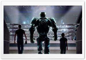 Real Steel Movie Ultra HD Wallpaper for 4K UHD Widescreen desktop, tablet & smartphone