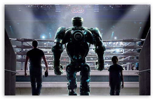 Real Steel Movie HD wallpaper for Wide 16:10 Widescreen WHXGA WQXGA WUXGA WXGA ; Standard 4:3 5:4 3:2 Fullscreen UXGA XGA SVGA QSXGA SXGA DVGA HVGA HQVGA devices ( Apple PowerBook G4 iPhone 4 3G 3GS iPod Touch ) ; iPad 1/2/Mini ; Mobile 4:3 5:3 3:2 5:4 - UXGA XGA SVGA WGA DVGA HVGA HQVGA devices ( Apple PowerBook G4 iPhone 4 3G 3GS iPod Touch ) QSXGA SXGA ;