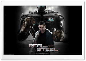 Real Steel Movie 2011 HD Wide Wallpaper for 4K UHD Widescreen desktop & smartphone