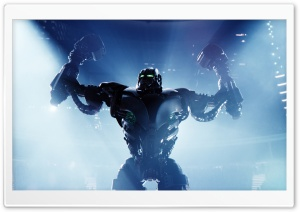 Real Steel Zeus HD Wide Wallpaper for Widescreen