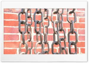 Realistic chains and bricks HD Wide Wallpaper for 4K UHD Widescreen desktop & smartphone