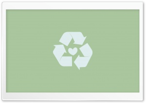 Recycle Sign HD Wide Wallpaper for Widescreen