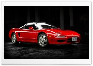 Red Acura NSX 1991 HD Wide Wallpaper for 4K UHD Widescreen desktop & smartphone