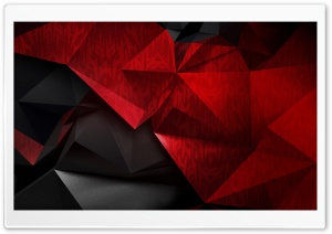 Red and Black Low poly background HD Wide Wallpaper for 4K UHD Widescreen desktop & smartphone