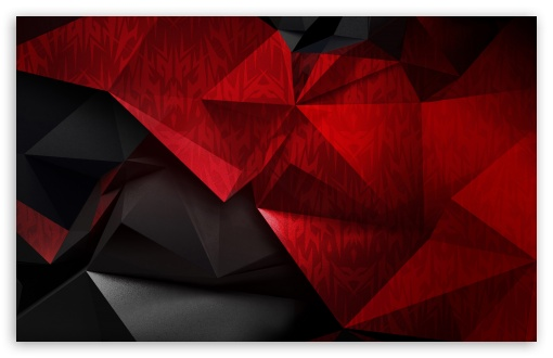 Download Red and Black Low poly background HD Wallpaper