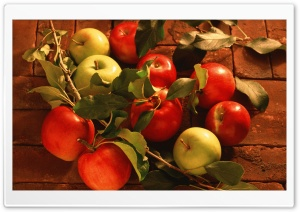 Red Apples And Green Apples HD Wide Wallpaper for Widescreen