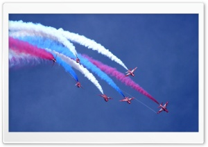 Red Arrows HD Wide Wallpaper for 4K UHD Widescreen desktop & smartphone