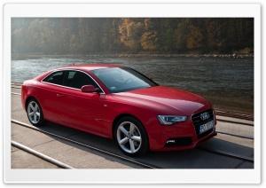 Red Audi HD Wide Wallpaper for 4K UHD Widescreen desktop & smartphone