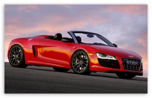 Red Audi Stasis HD wallpaper for Wide 16:10 5:3 Widescreen WHXGA WQXGA WUXGA WXGA WGA ; HD 16:9 High Definition WQHD QWXGA 1080p 900p 720p QHD nHD ; Mobile 5:3 16:9 - WGA WQHD QWXGA 1080p 900p 720p QHD nHD ;