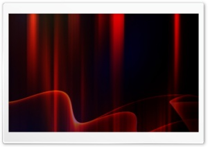 Red Aurora HD Wide Wallpaper for Widescreen