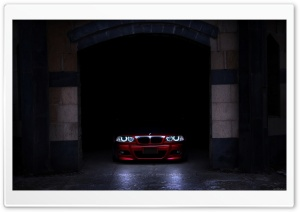 Red BMW HD Wide Wallpaper for Widescreen