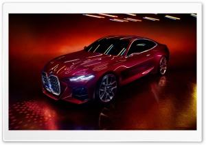 Red BMW Car