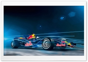 Red Bull Formula 1 Car HD Wide Wallpaper for Widescreen