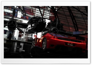 Red Bull Hangar 7 HD Wide Wallpaper for Widescreen